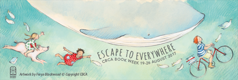 Banner image for CBCA Book Week 2017, Escape to Everywhere
