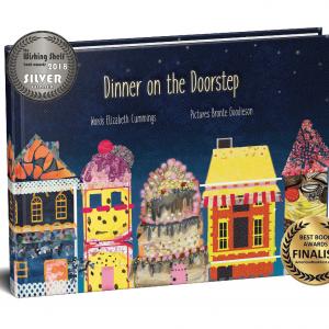Book display of Dinner on the Doorstep