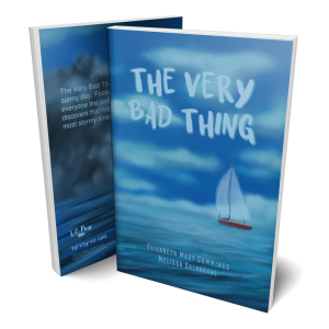 Book display of The Very Bad Thing
