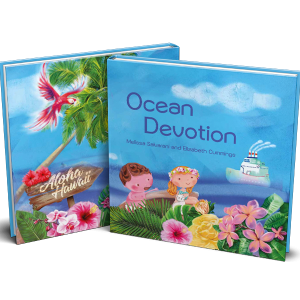 Book display of Ocean Devotion