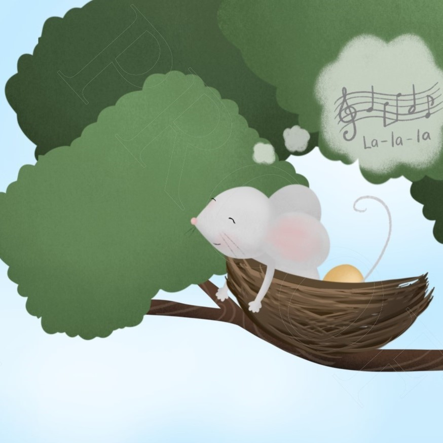 Image from The Mouse and The Egg showing Mouse